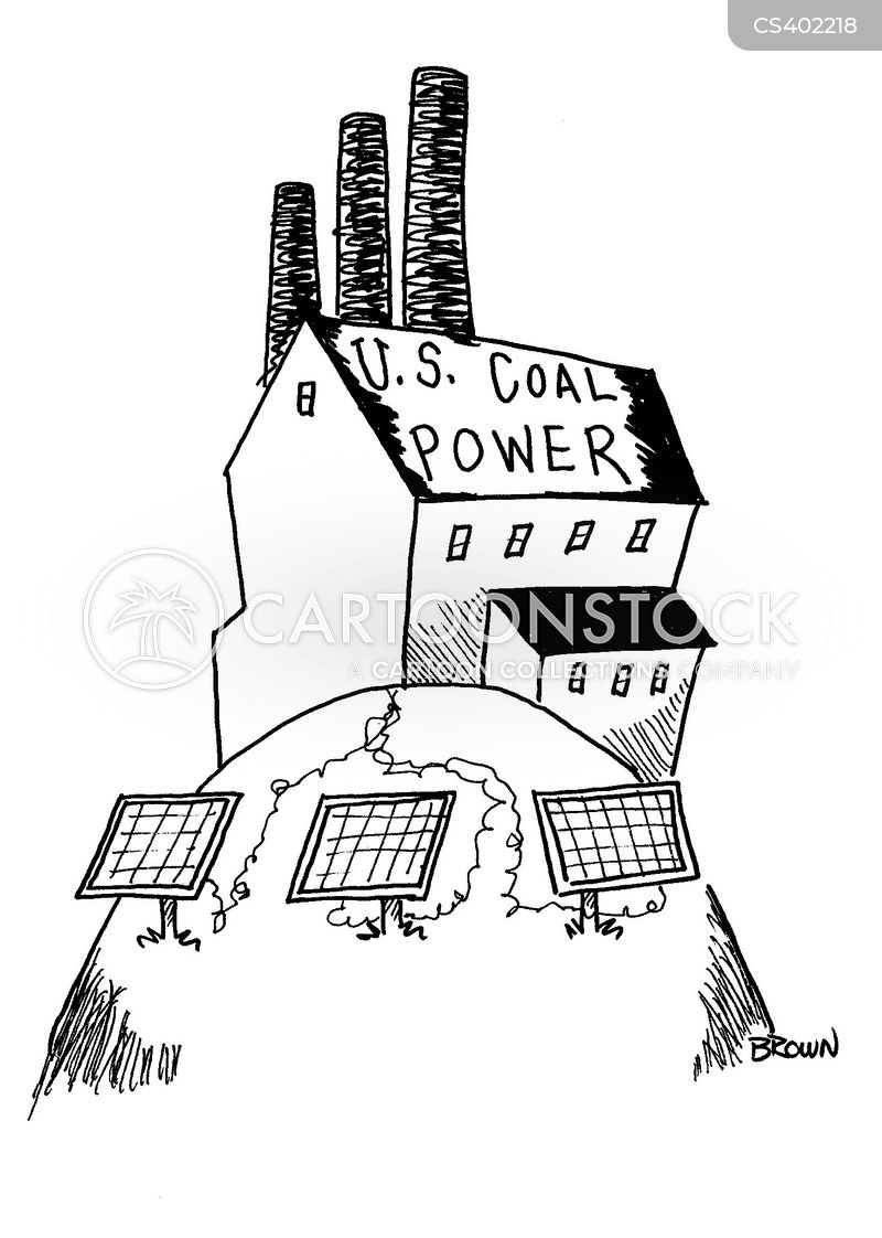 coal pollution cartoon