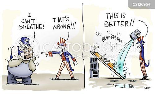 race issue cartoon