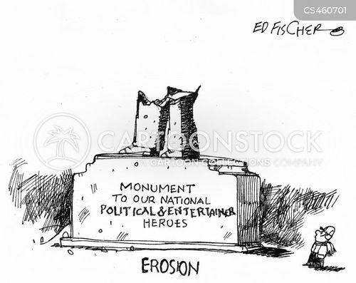 erosion cartoon