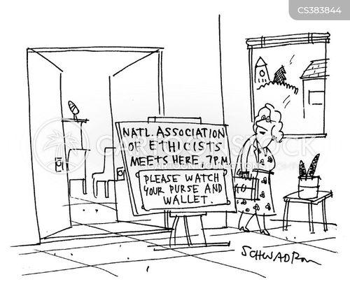 social commentary cartoon