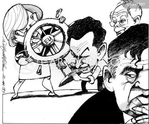 european politicians cartoon