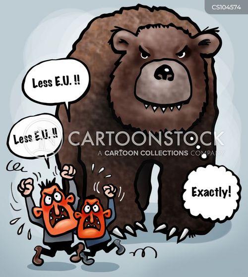 russian influence cartoon