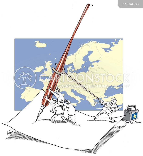 europeans cartoon
