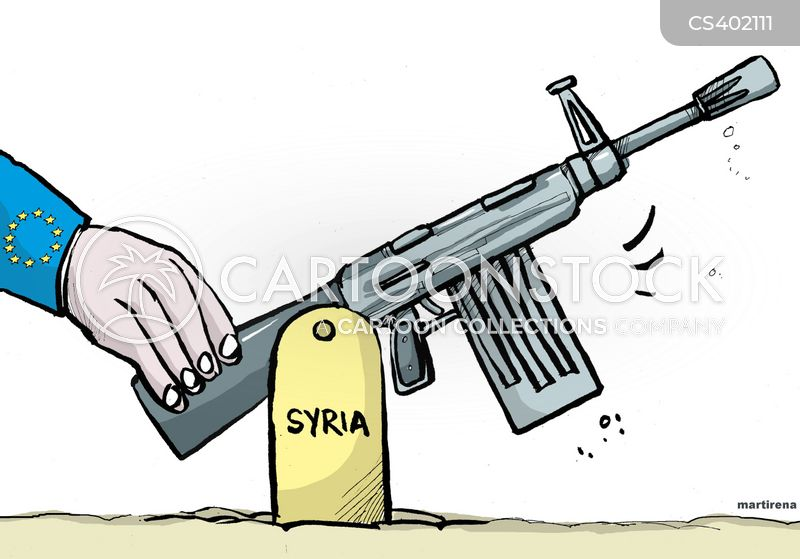 syrian national council cartoon