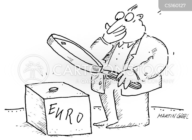 Euro Currency Cartoons And Comics Funny Pictures From Cartoonstock