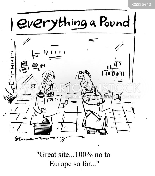 pound shops cartoon