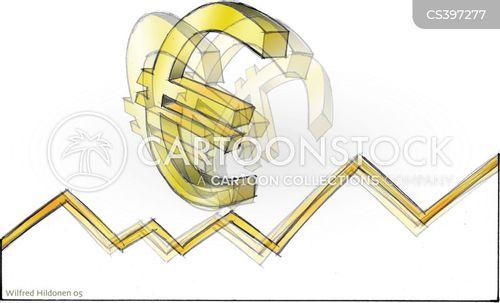 european currency cartoon