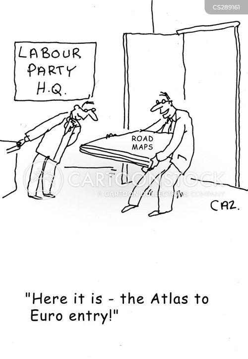 euro membership cartoon