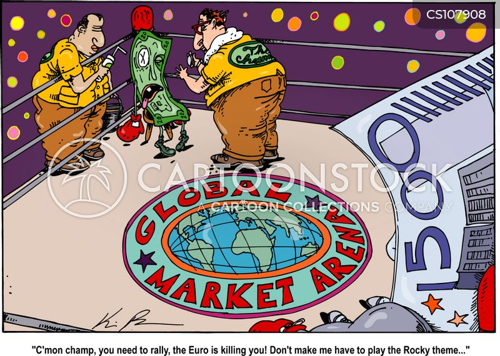 global market cartoon