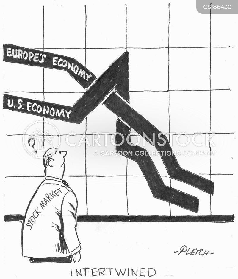 american economy cartoon