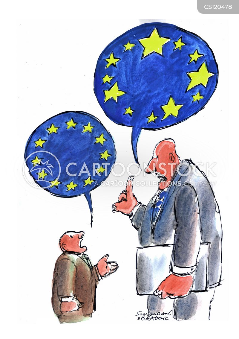 european politician cartoon