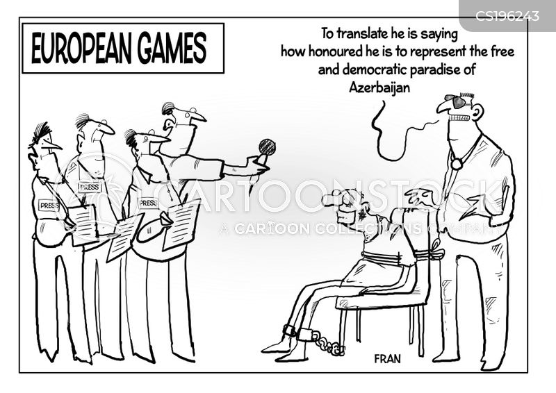 european games cartoon
