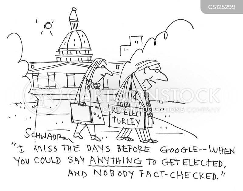 fact checking cartoon