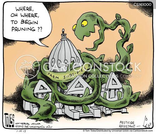 farm income stabilization cartoon