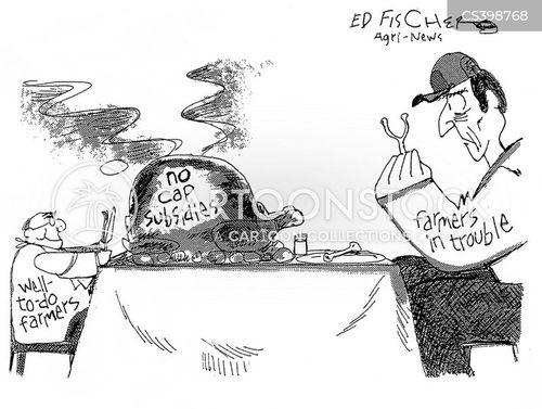 american agriculture cartoon