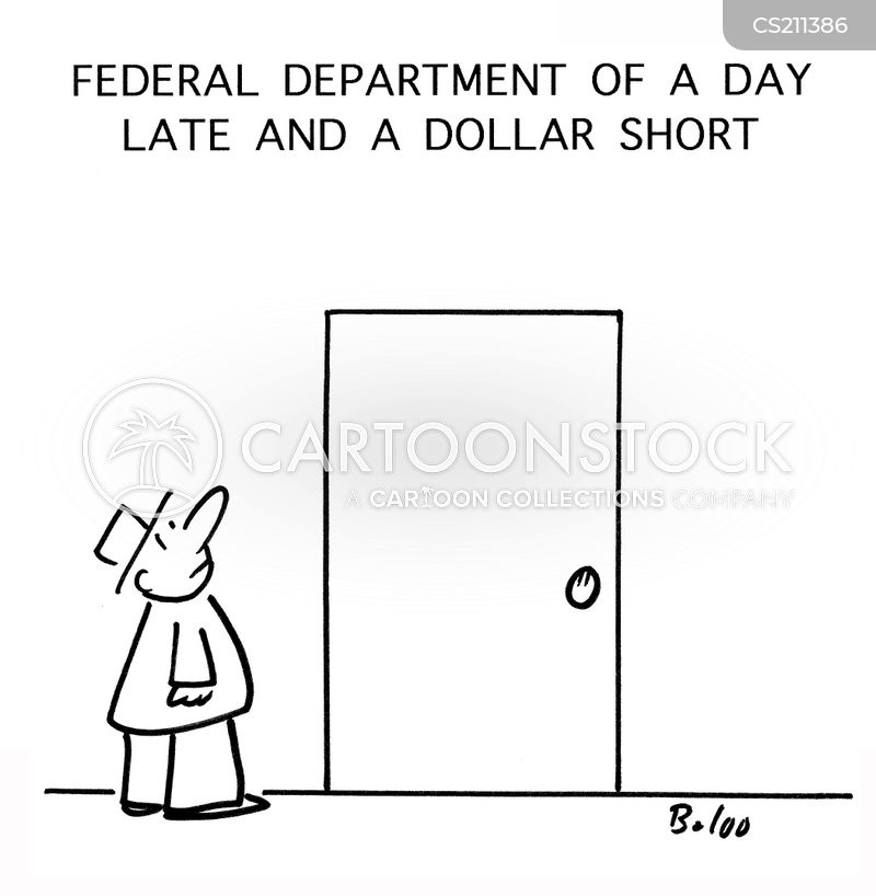 day late and a dollar short cartoon