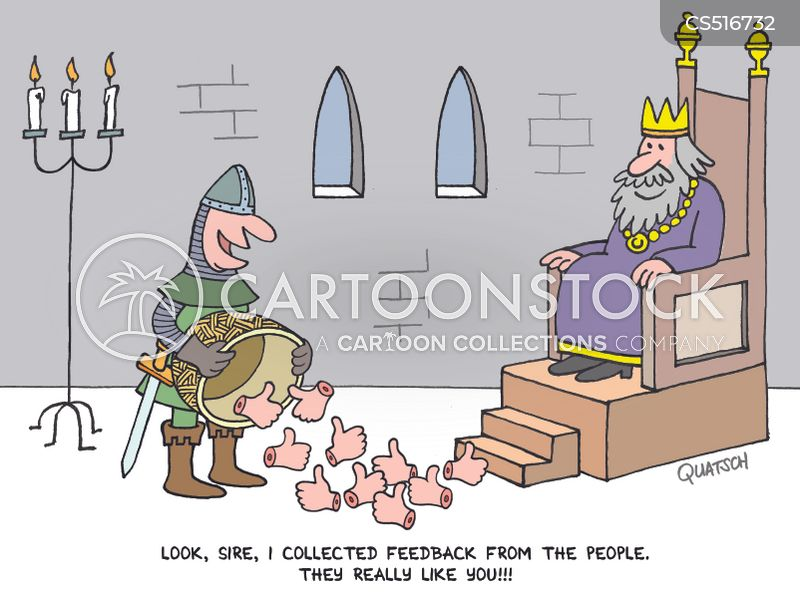 medieval king cartoon