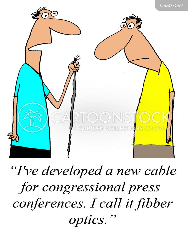 fibbers cartoon