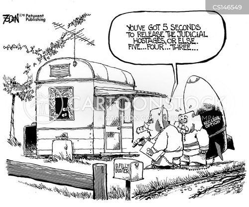 nuclear option cartoon