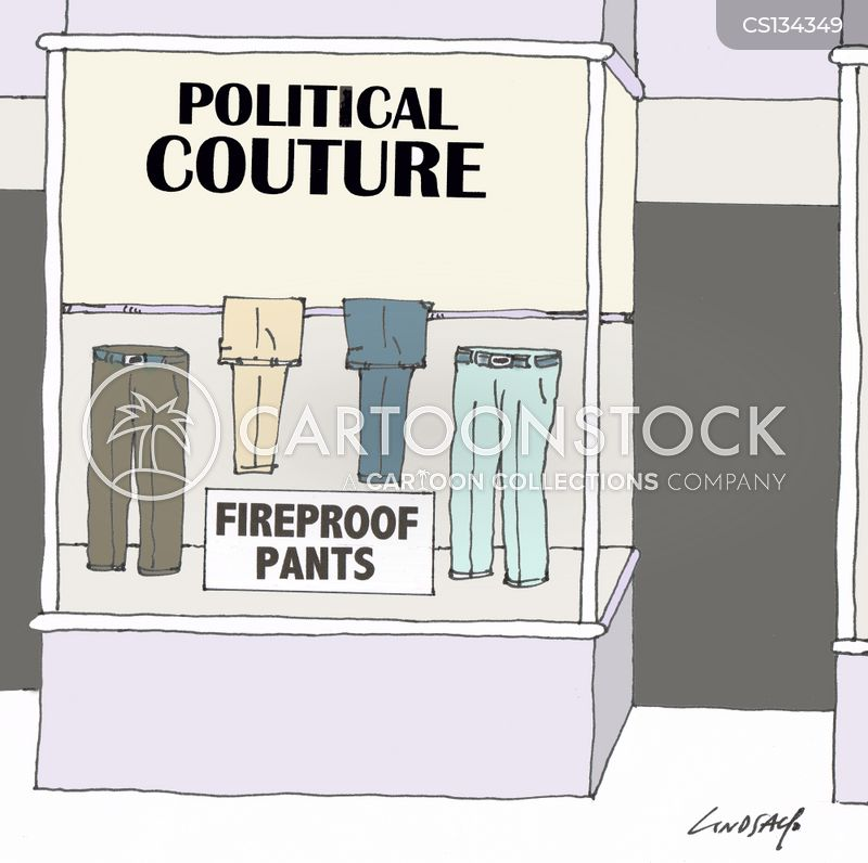 political couture cartoon