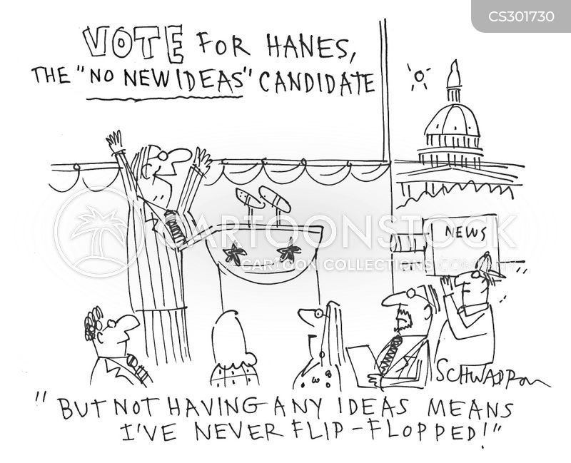 political platforms cartoon