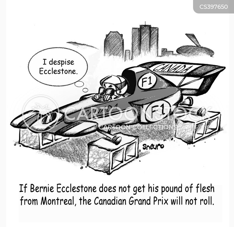 bernie cartoon