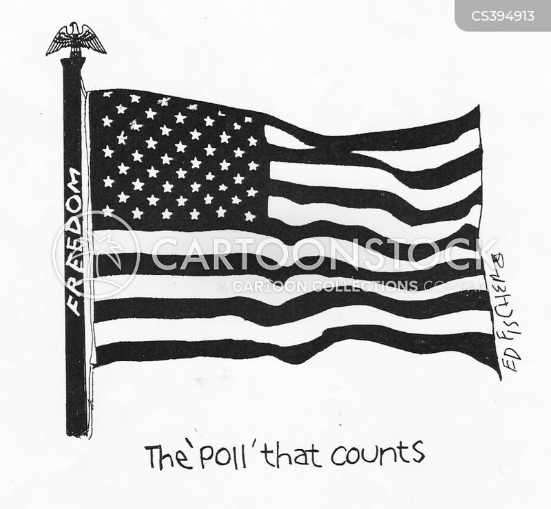 freedom poll cartoon