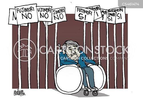 human rights abuses cartoon