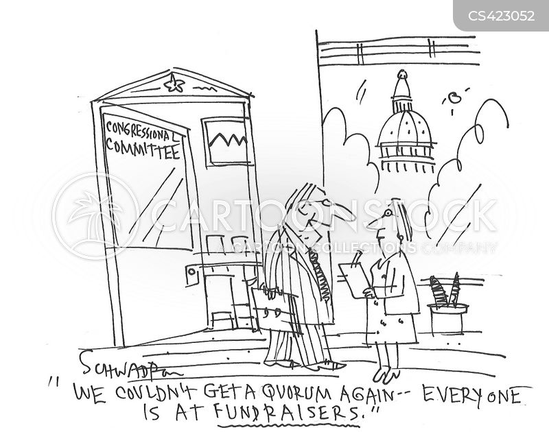 fundraise cartoon