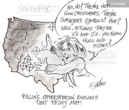 political rhetoric cartoon