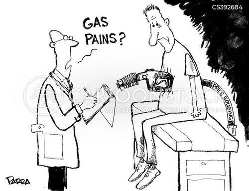 petrol costs cartoon