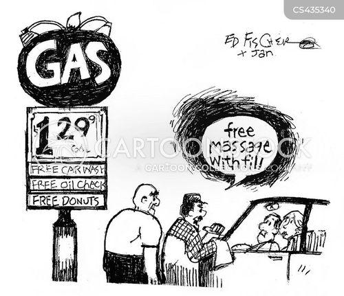 petrol cost cartoon