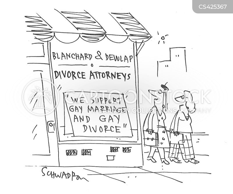 divorce attorneys cartoon