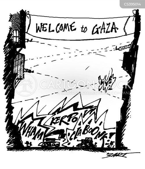 gaza strip cartoon