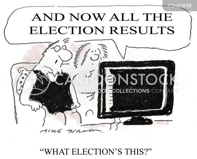 election nights cartoon