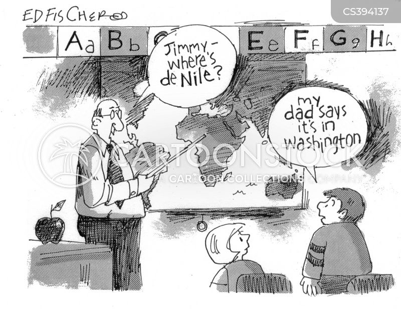 geography lessons cartoon