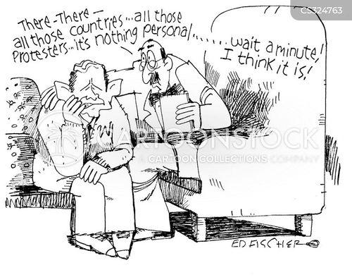 wars in iraq cartoon