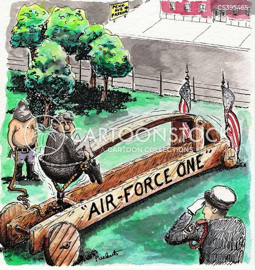 air force one cartoon