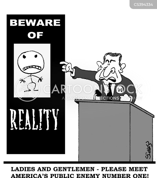 bush administration cartoon