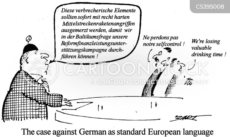 second languages cartoon