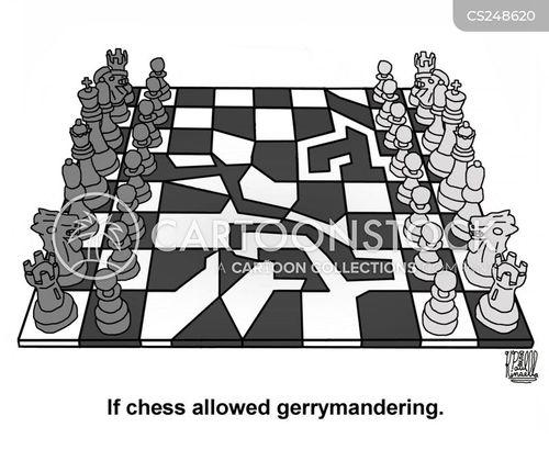 redistricting cartoon