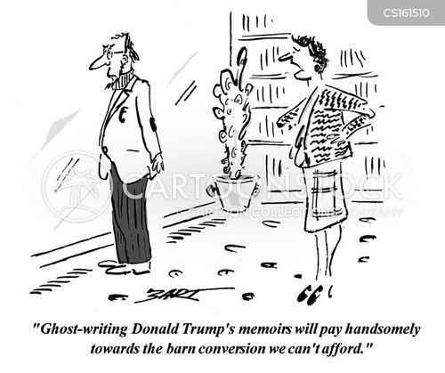 ghost-writer cartoon