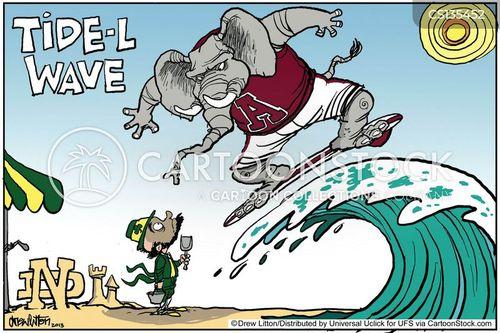good old party cartoon