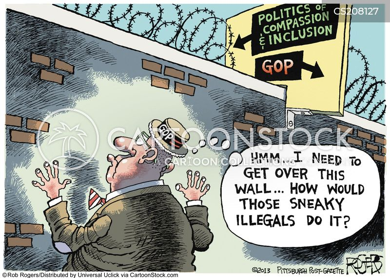 grand old party cartoon