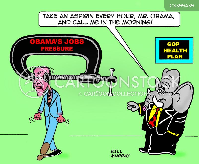 job pressures cartoon