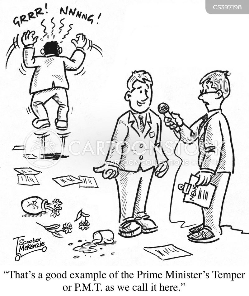 p.m.s. cartoon