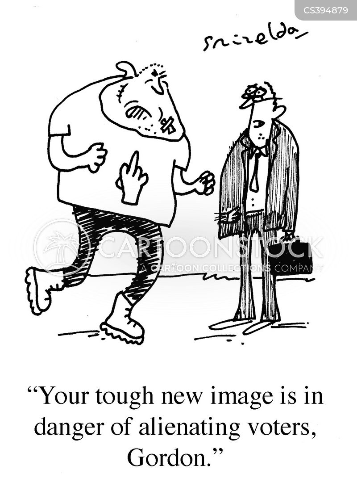 british election cartoon