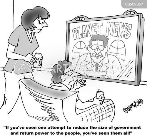 big governments cartoon