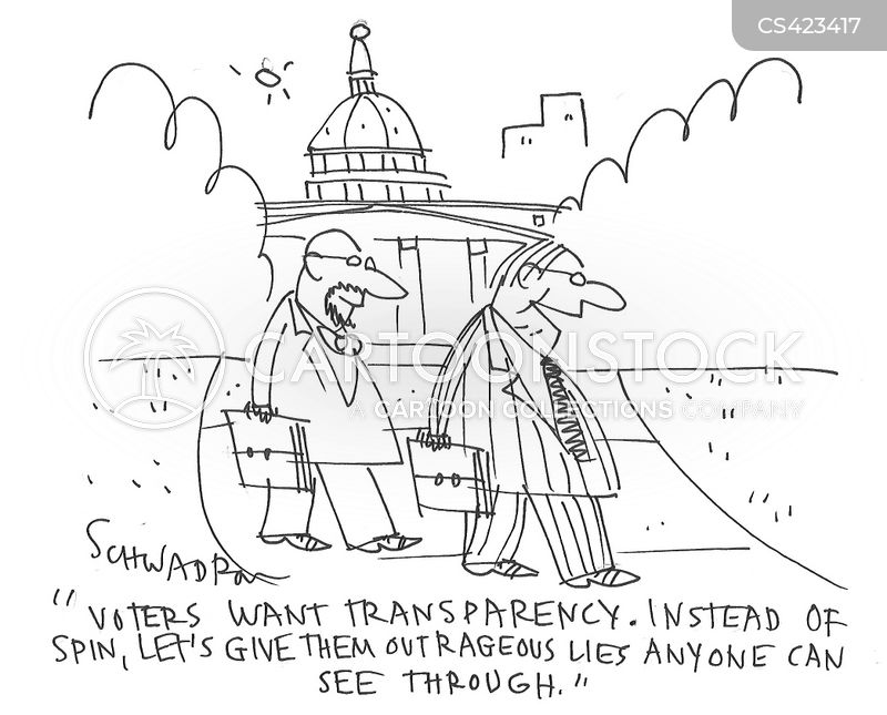 Government Transparency Cartoons and Comics - funny pictures from ...