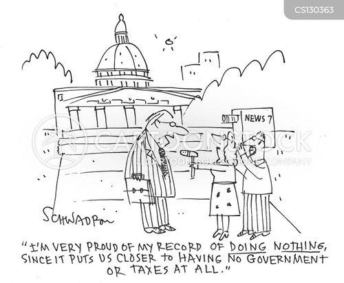 laissez-faire cartoon